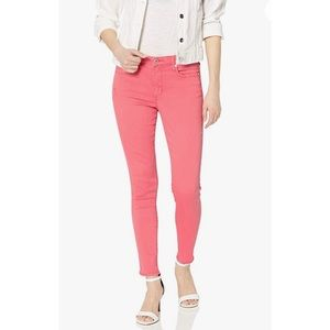 ELLA MOSS high rise pink skinny ankle jeans sz 29